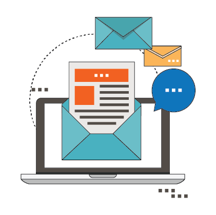 Email, SMS and dashboard notifications
