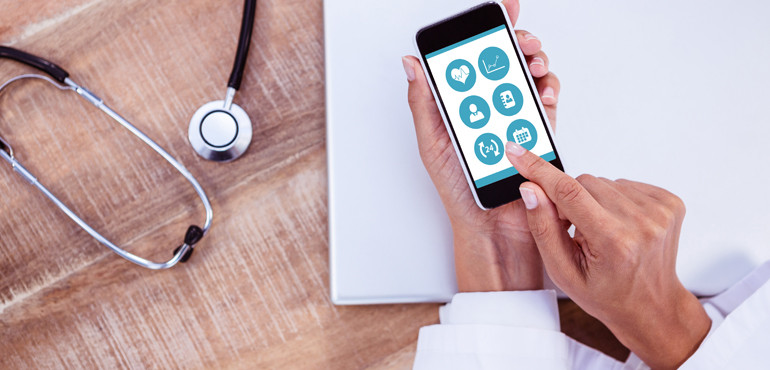 Mobile technology applications in health care